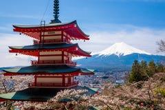 The mount Fuji, Japan Stock Image