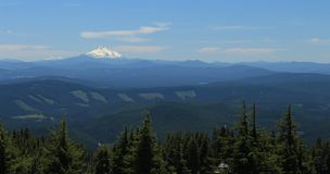 Mount Jefferson scenic view Royalty Free Stock Images