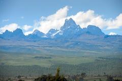 Mount kenya Royalty Free Stock Photos