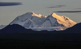 Mount McKinley at sunset Stock Photography