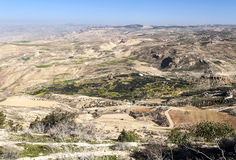 Mount Nebo in Jordan Royalty Free Stock Images