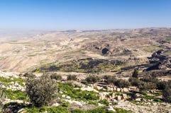 Mount Nebo in Jordan Stock Photos