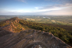 Mountain top view Royalty Free Stock Photography