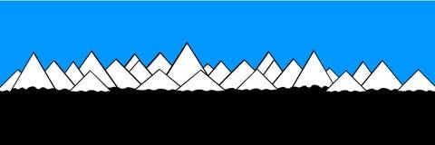 Mountains landscape. Royalty Free Stock Photos