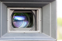 Movie Camera Lens Stock Images