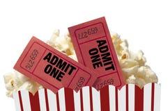 Movie Night Isolated Stock Image