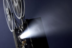 Movie projector Royalty Free Stock Photo