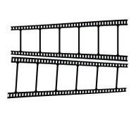 Movie strip Stock Images