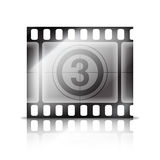 Movie tape. Royalty Free Stock Photo