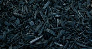 Mulch Black Decorative Bark Stock Images
