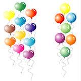 Multi-coloured Balloons. Stock Photos