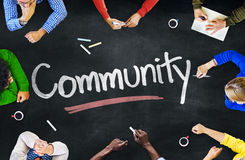 Multi-Ethnic Group of People and Community Concepts Royalty Free Stock Photo