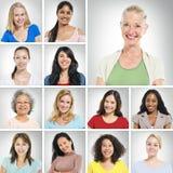 Multi Ethnic Women Royalty Free Stock Photography