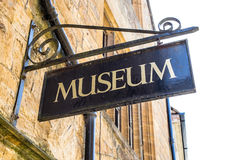 Museum Sign Stock Photography