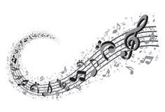 Music Swirl Stock Images