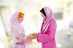 Muslim greeting Royalty Free Stock Image