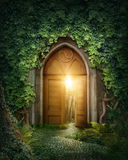 Mysterious entrance Stock Photos