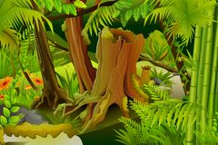 Mystic Jungle Royalty Free Stock Photos
