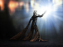 Mystical creature Stock Photo