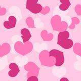 Nahtloser Muster Valentinstag Stockfotografie