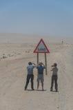 Namibia - Besichtigungstourist Lizenzfreie Stockbilder
