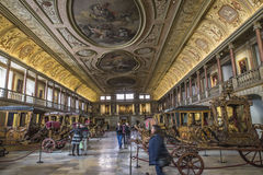 National Coach Museum (Lisbon, in Portugal) Royalty Free Stock Photography