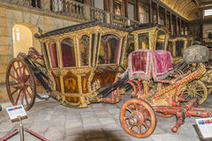 National Coach Museum (Lisbon, in Portugal) Royalty Free Stock Images
