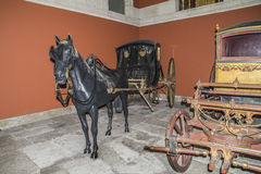 National Coach Museum (Lisbon, in Portugal) Royalty Free Stock Image