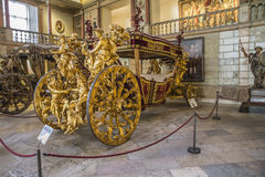 National Coach Museum (Lisbon, in Portugal) Royalty Free Stock Photo