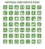 National Park Service Signs Stock Photos