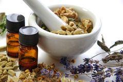 Natural beauty treatment with spices Royalty Free Stock Image