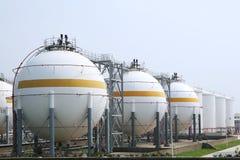 Natural gas warehouse Royalty Free Stock Photography