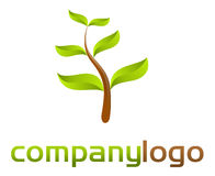 Nature logo - vector Royalty Free Stock Images