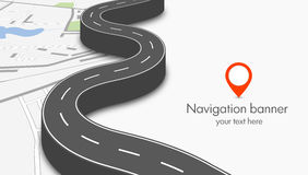 Navigation concept Royalty Free Stock Photos