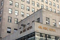 NBC News Headquarters Stock Photo