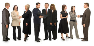Networking Group Stock Photography