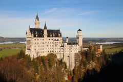 Neuschwanstein Castle in Germany Royalty Free Stock Photography