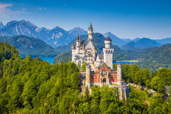 Neuschwanstein Fairytale Castle, Bavaria, Germany Royalty Free Stock Images