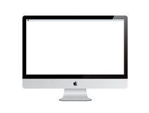 New Apple iMac computer with Retina Display Royalty Free Stock Photos