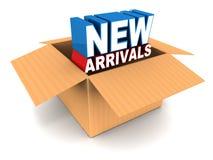 New arrivals Stock Photo
