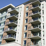 New Condo Exterior Royalty Free Stock Images