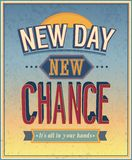 New Day, new chance Stock Photography