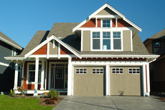 New Home House Exterior Stock Images