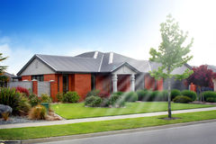 New house Stock Images