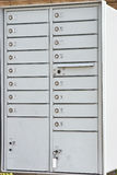 New Residential Mailboxes Stock Photo