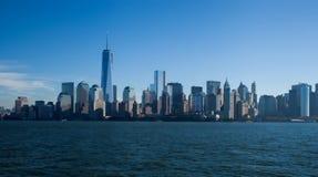The new World Trade Center in lower Manhattan Stock Photo