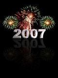 New Year 2007 Royalty Free Stock Photography