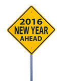 2016 new year ahead Stock Photography