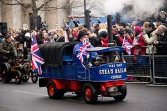 New years parade Royalty Free Stock Photos