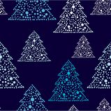 New years tree repetition Stock Photo